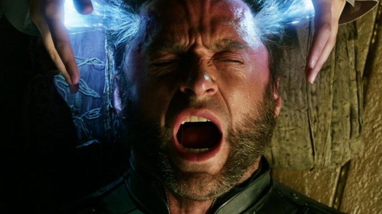 Hugh Jackman screams