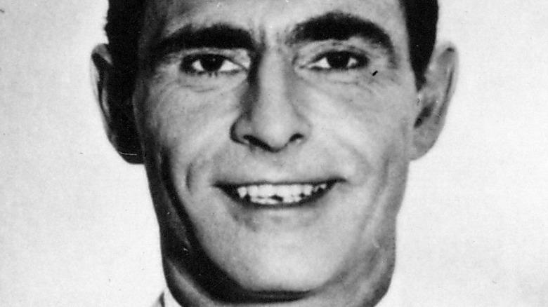 Rod Serling smiles
