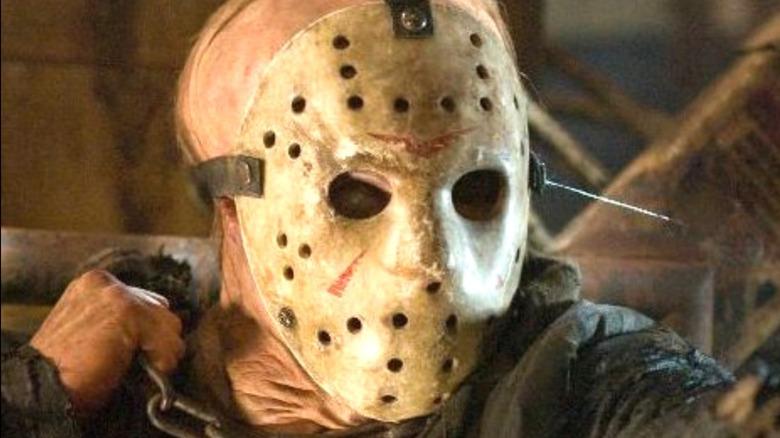 Jason Voorhees in hockey mask