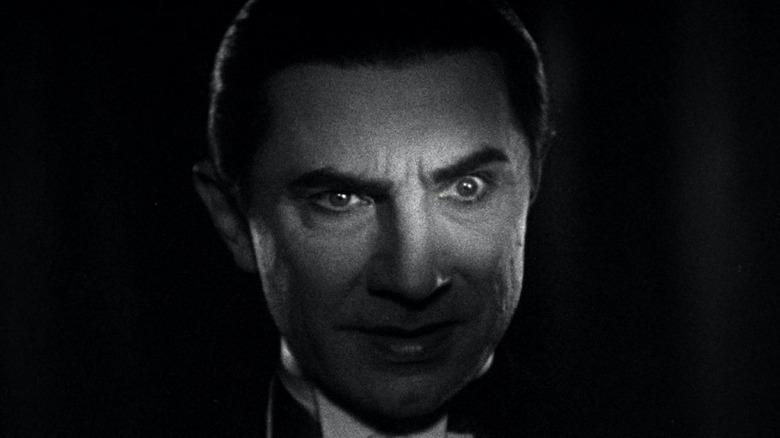 Dracula face lighting
