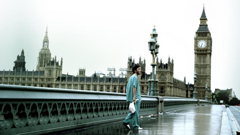 Cillian Murphy lost in London
