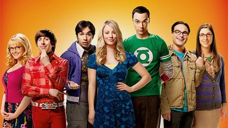The Big Bang Theory cast poster