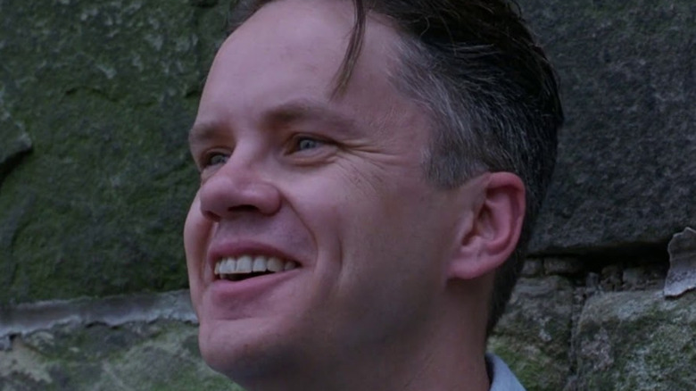 Tim Robbins Andy Dufresne smiling