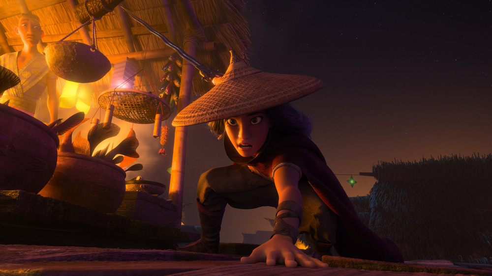 Raya and the Last Dragon market crouch