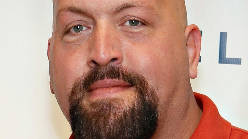 The Big Show's face
