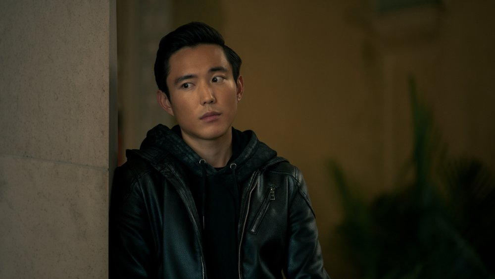 Justin H. Min as Ben in The Umbrella Academy