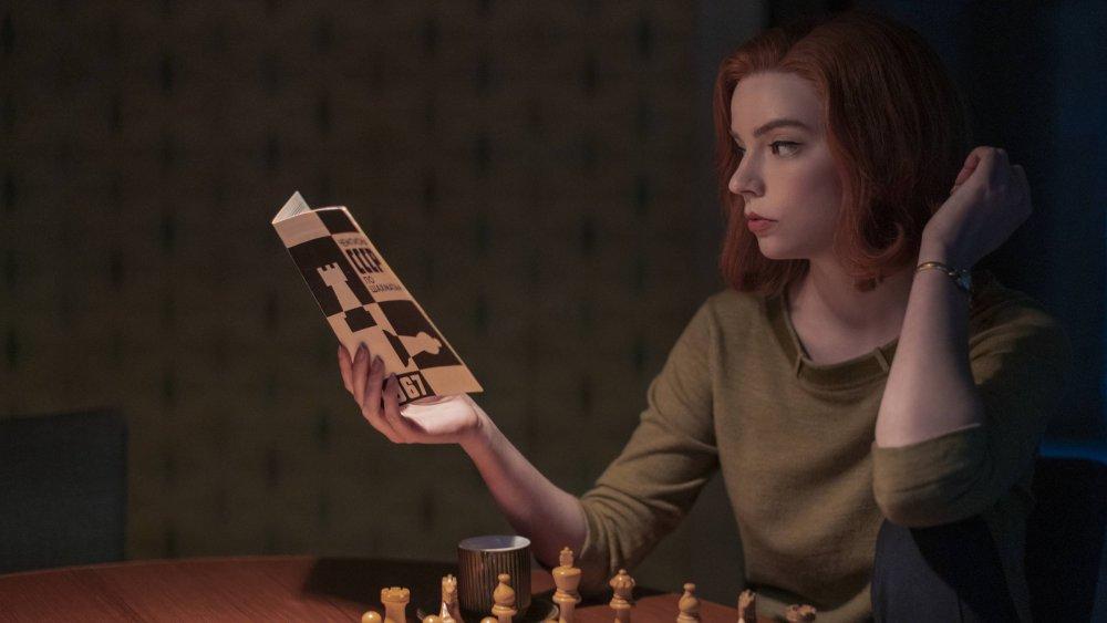 Anya Taylor-Joy as Beth Harmon on Netflix's The Queen's Gambit