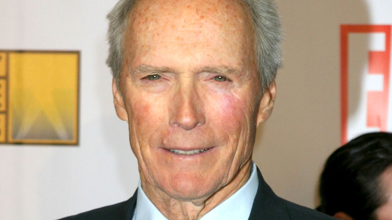 Clint Eastwood posing for camera