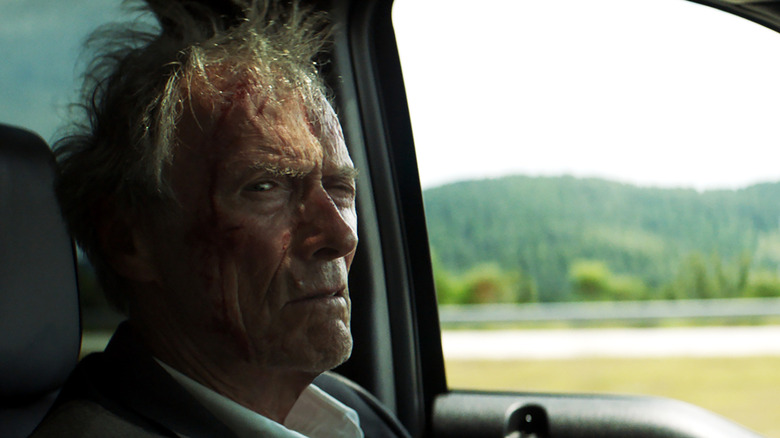 Clint Eastwood on a drive