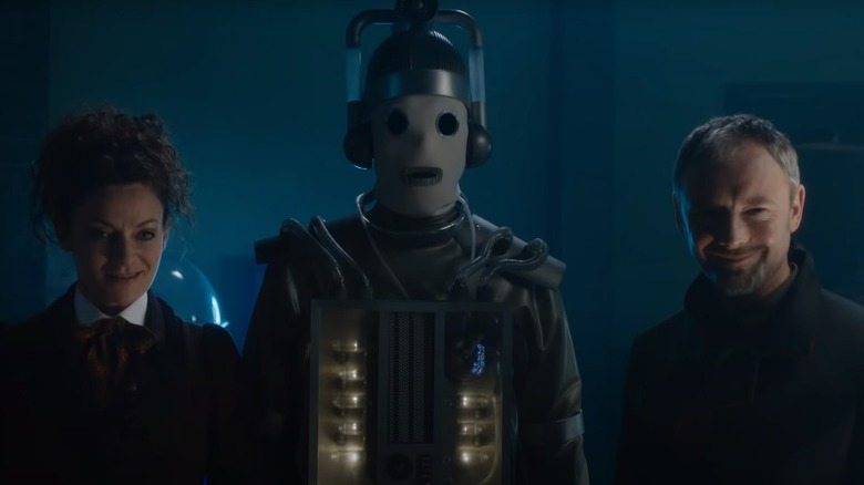John Simm and Michelle Gomez as the Master in Doctor Who