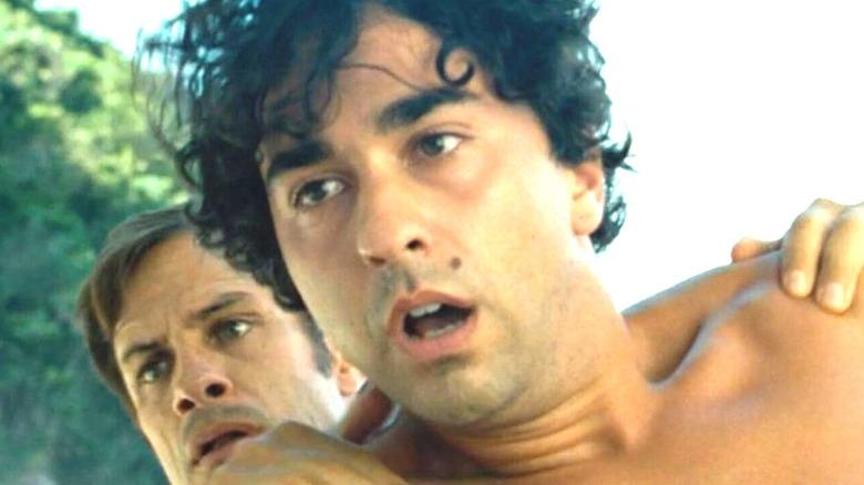Alex Wolff in close-up