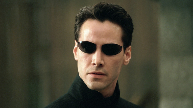 Keanu Reeves in The Matrix franchise