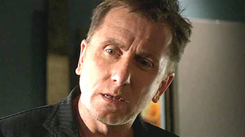 Dr. Lightman looking confused on Lie to Me
