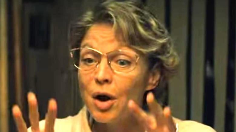 Annie Flynn talking
