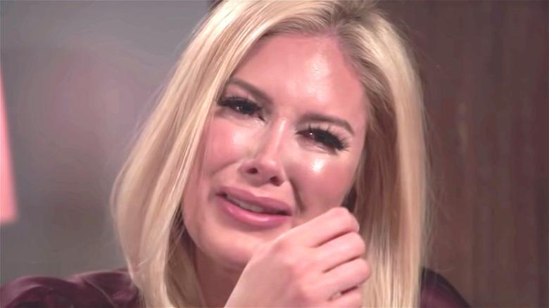 Heidi Pratt crying