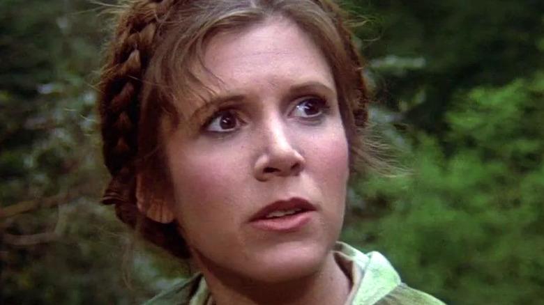 Princess Leia on Endor