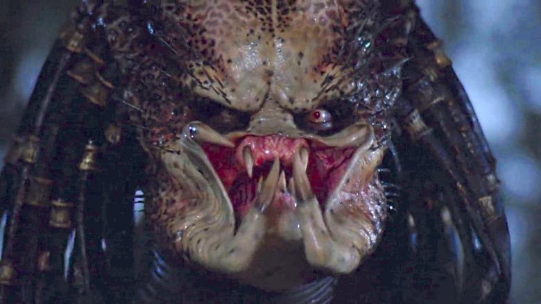 Predator Jungle Hunter baring teeth