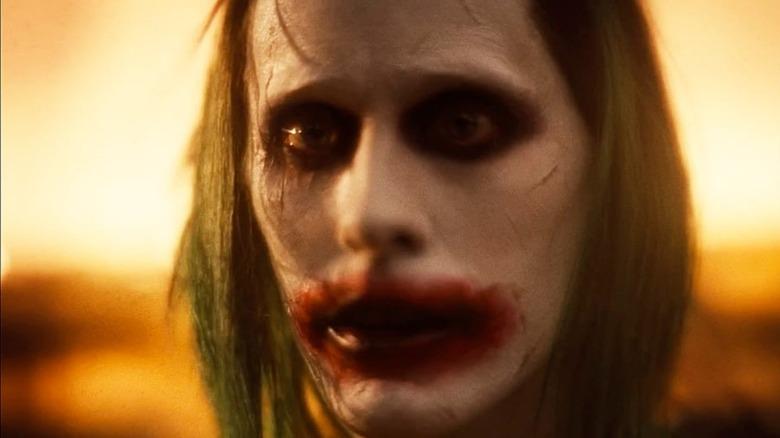 Jared Leto's Joker stares