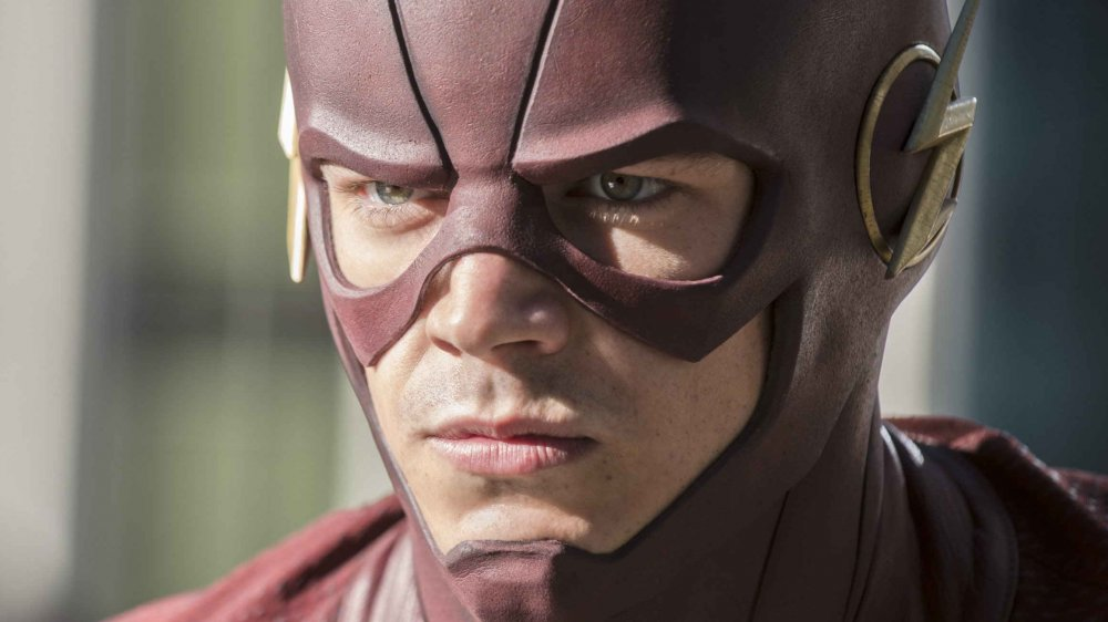 Grant Gustin as Barry Allen, AKA The Flash, from The Flash