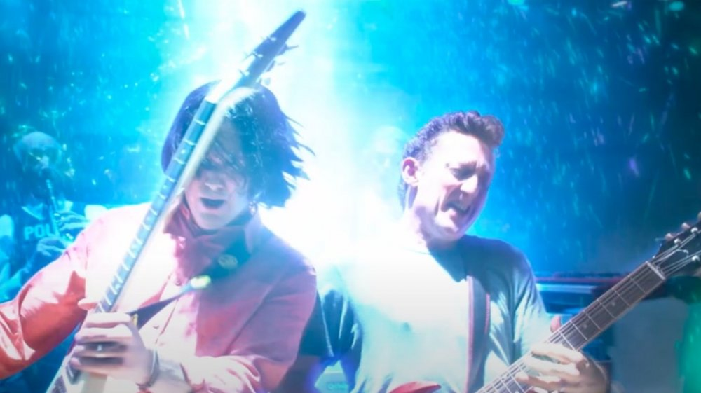 Keanu Reeves as Ted Logan Alex Winter as Bill Preston in Bill & Ted Face the Music