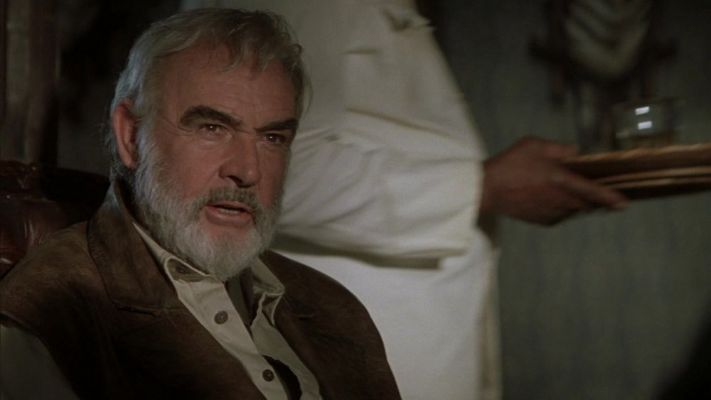 Sean Connery as Quartermaine in The League of Extraordinary Gentlemen