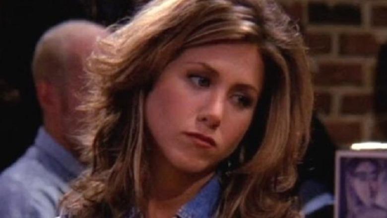 Friends Jennifer Aniston in close-up