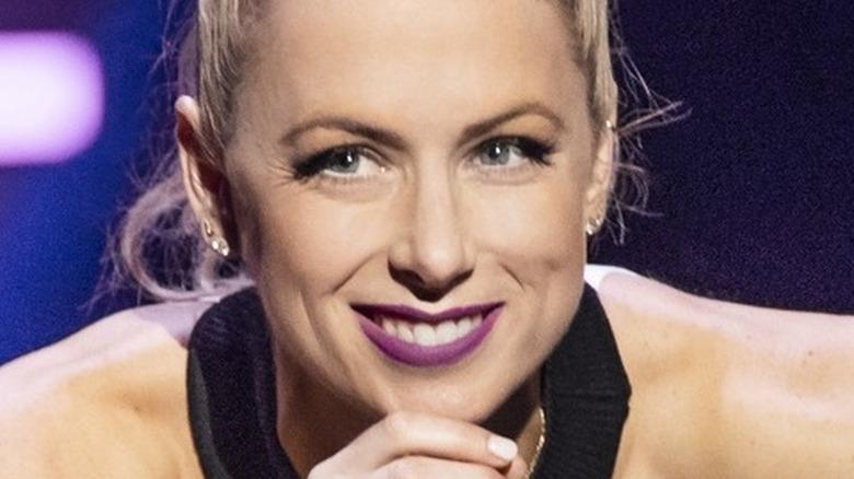 Iliza Shlesinger smiling onstage