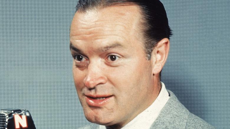 Bob Hope wide-eyed