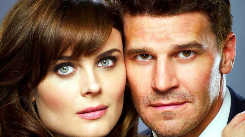 Dr. Bones and Agent Booth together