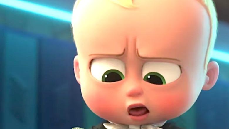 Boss Baby unhappy