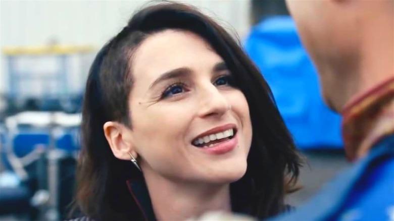 Aya Cash Stormfront uniform smiling
