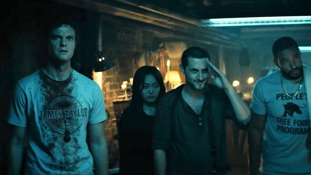 Jack Quaid, Karen Fukuhara, Tomer Capon, and Laz Alonso on Amazon Prime's The Boys