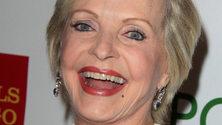 Florence Henderson smiles
