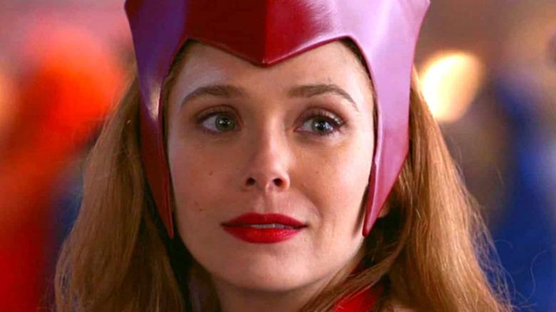 Wanda wears her classic costume on WandaVision