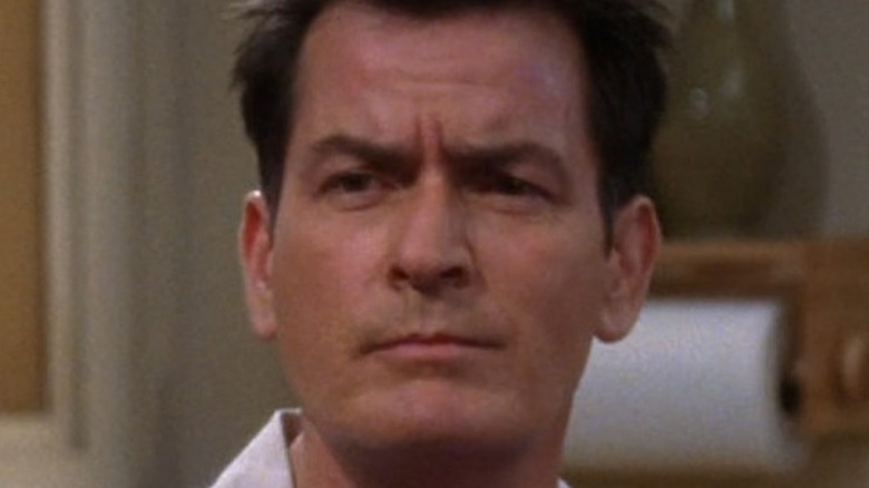 Charlie sheen on Two and a Half Men