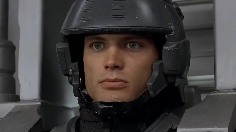 starship troopers johnny rico helmet