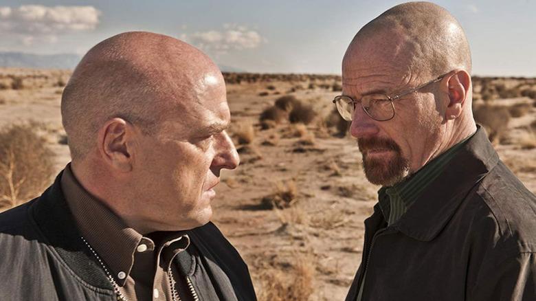 Dean Norris and Bryan Cranston on Breaking Bad
