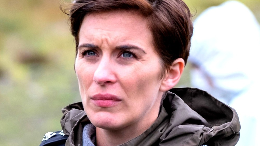 Kate Fleming looks concerned on Line of Duty