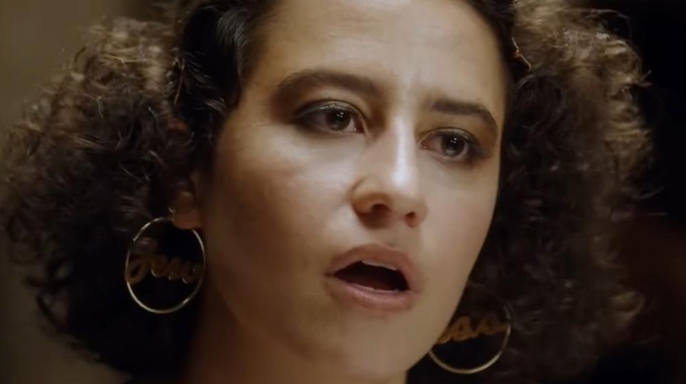 Ilana Glazer Ilana Wexler hoop earrings