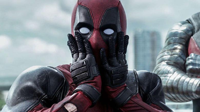 Deadpool surprised