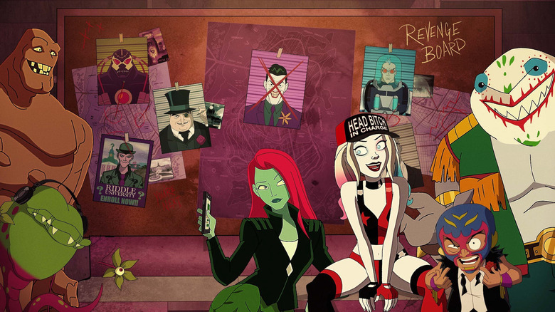 the cast of Harley Quinn the animated series