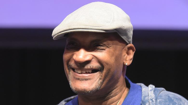 Tony Todd cap smiling