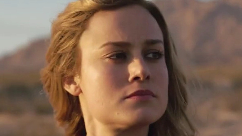 Captain Marvel looking off