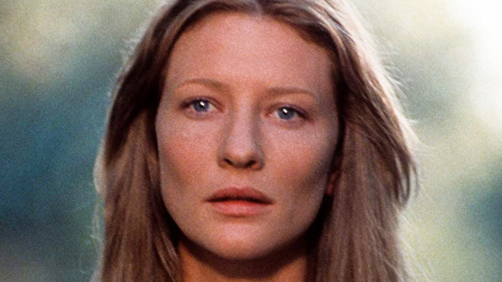 The Gift star Cate Blanchett looking wistful