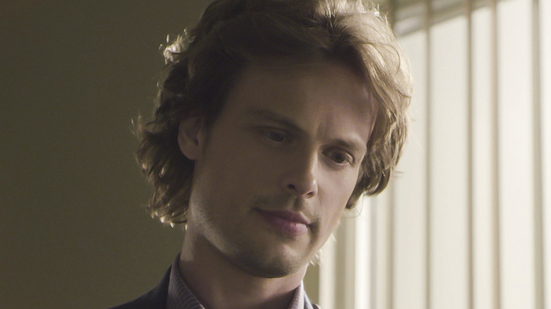 Reid gazes down