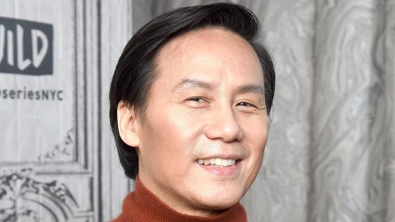 BD Wong red carpet smiling