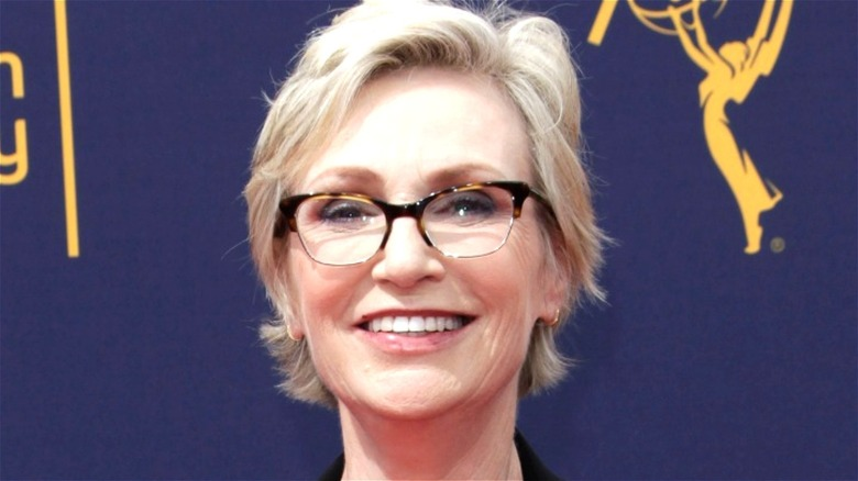 Jane Lynch smiling