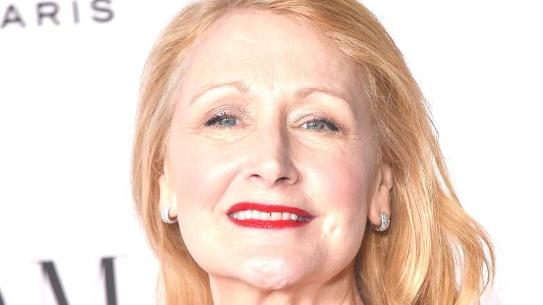 Patricia Clarkson smiling