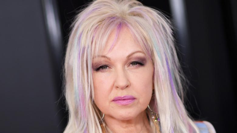 Cyndi Lauper at the Grammys