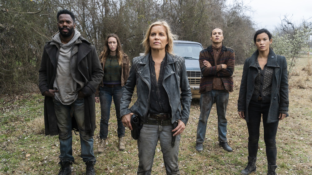 Madison and her crew on Fear the Walking Dead